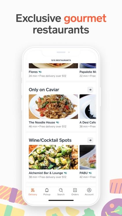 Caviar - Order Food Delivery screenshot-3