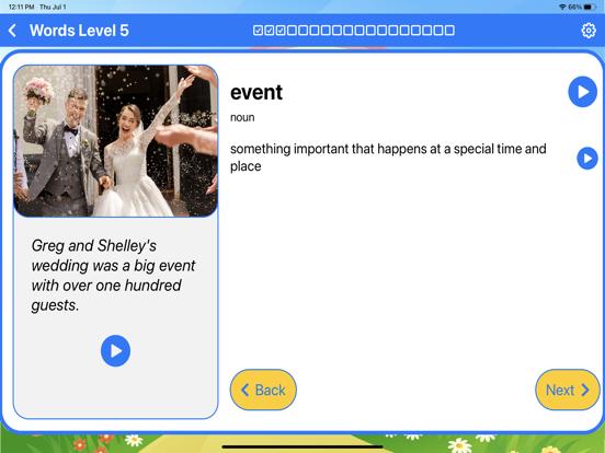 Ace Vocabulary Grade 3 screenshot 5