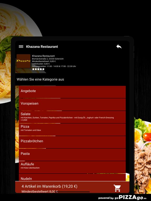 Khazana Restaurant Gütersloh screenshot 8