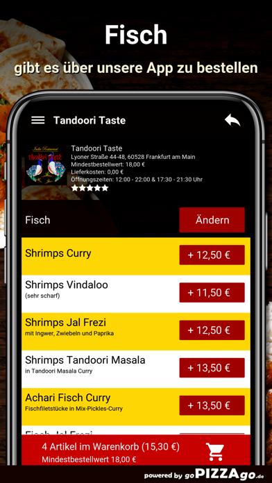 Tandoori Taste Frankfurt screenshot 6