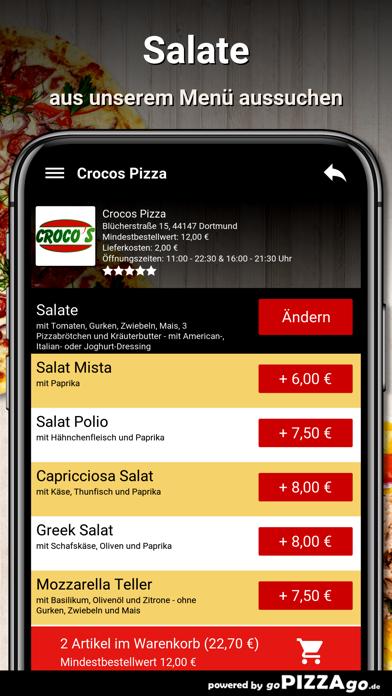 Crocos Pizza Dortmund screenshot 5
