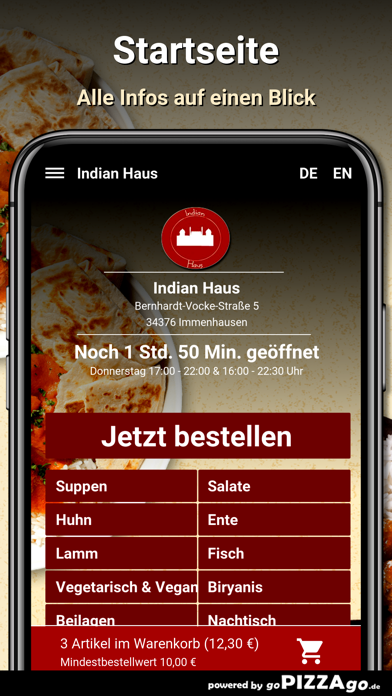 Indian Haus Immenhausen screenshot 2