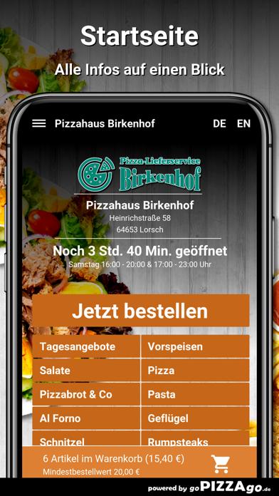 Pizzahaus-Birkenhof Lorsch screenshot 2