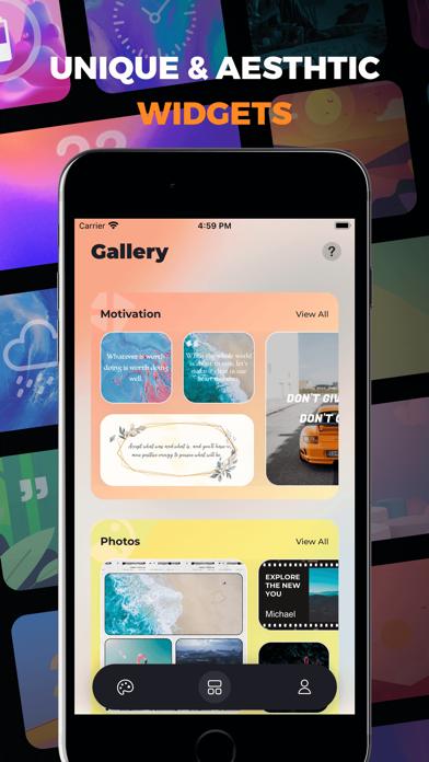 Fancy Widgets & Themes screenshot 3