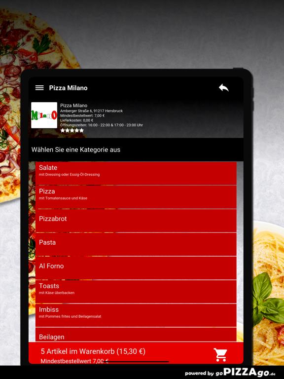 Pizza Milano Hersbruck screenshot 8