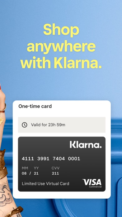 Klarna | Shop now. Pay later. Screenshot