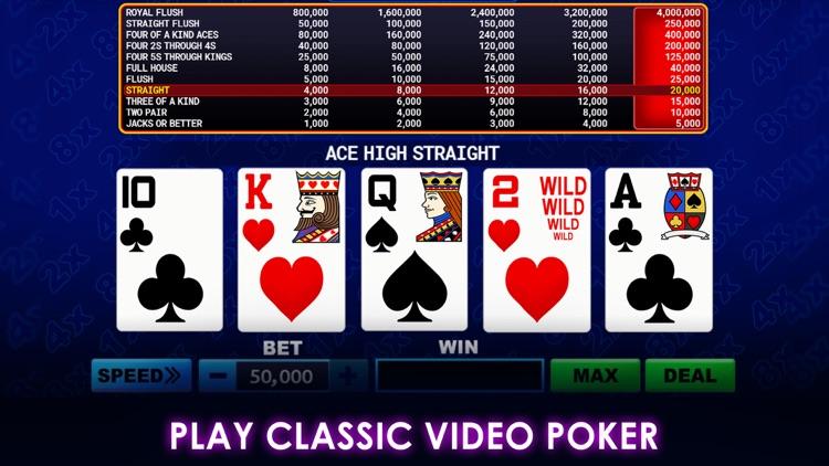 Multi-Play Video Poker