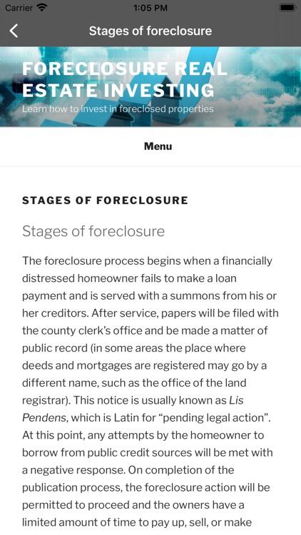 Foreclosure buy property guide screenshot-3