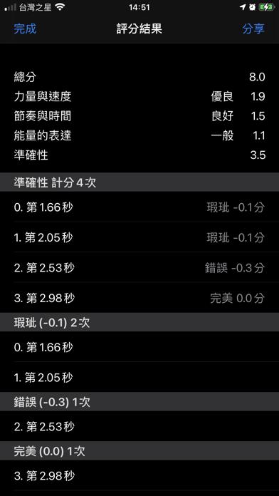 跆拳道品勢計分器 screenshot 3