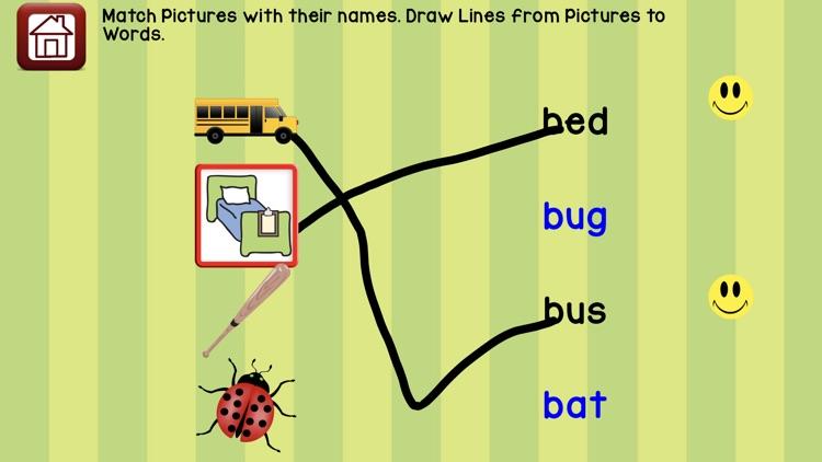 Learn 2 Read Vowels CVC Words screenshot-4