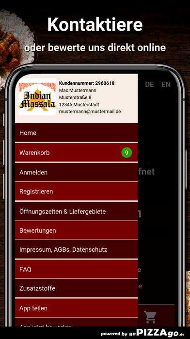 Indian Massala Berlin screenshot 3