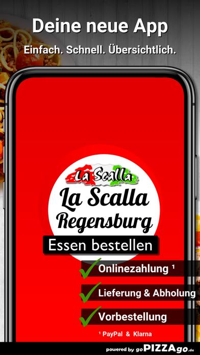 Pizza La Scalla Regensburg screenshot 1