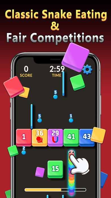 Snake vs Pac: With Cash Prizes screenshot 1