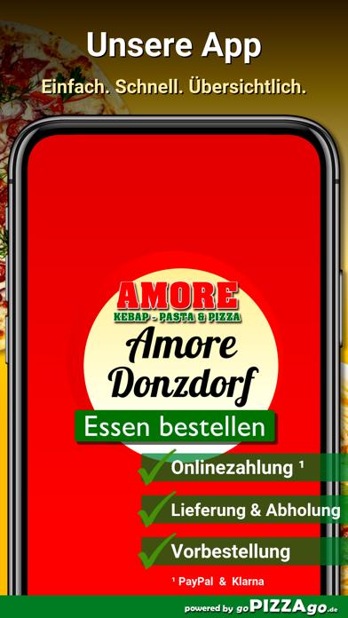 Amore Pizza Donzdorf screenshot 1