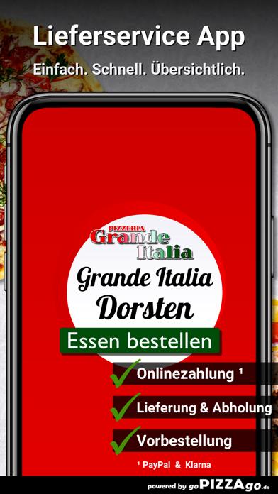 Pizzeria Grande Italia Dorsten screenshot 1