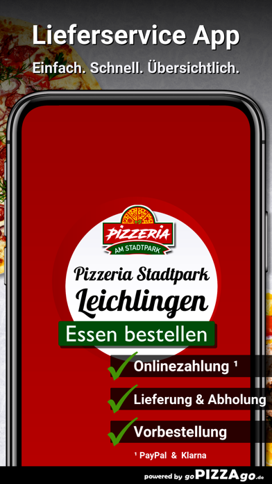 Pizzeria Stadtpark Leichlingen screenshot 1