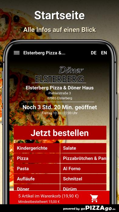 Elsterberg Pizza & Döner Haus screenshot 2