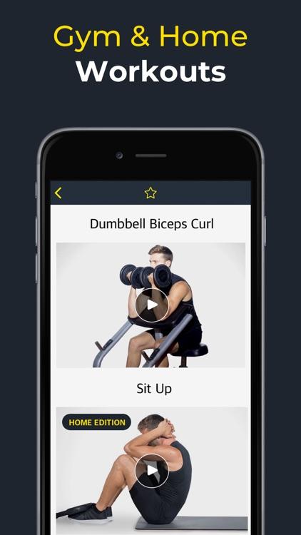 Workout: Gym workout planner screenshot-7