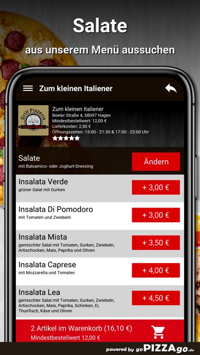 Zum kleinen Italiener Hagen screenshot 5