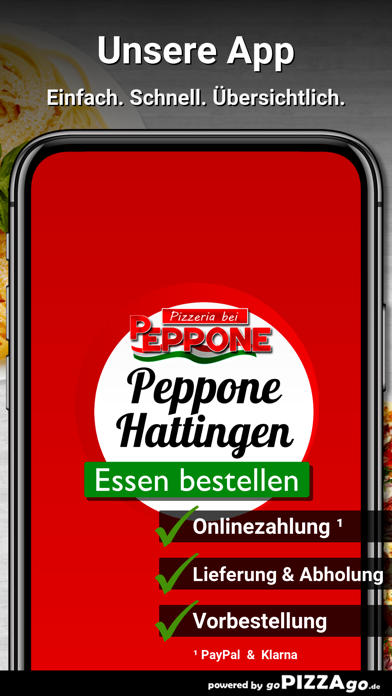 Pizzeria bei Peppone Hattingen screenshot 1