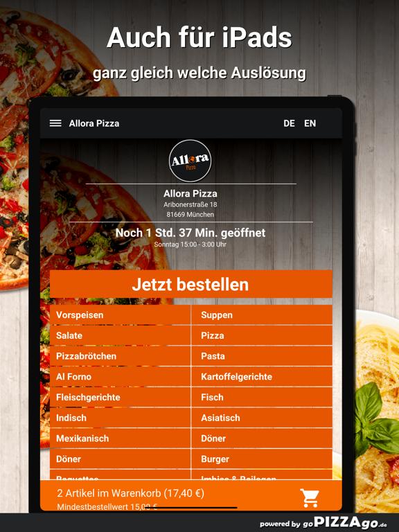 Allora Pizza München screenshot 7