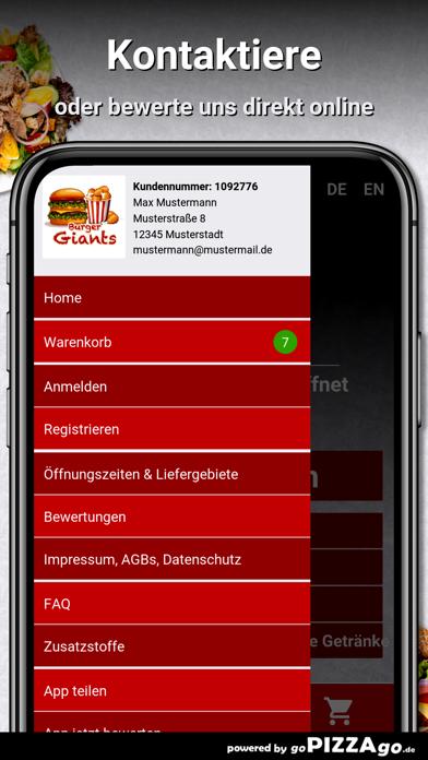 Burger Giants Kassel screenshot 3