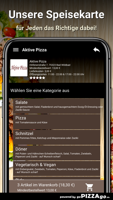 Aktive Pizza Bad Wildbad screenshot 4