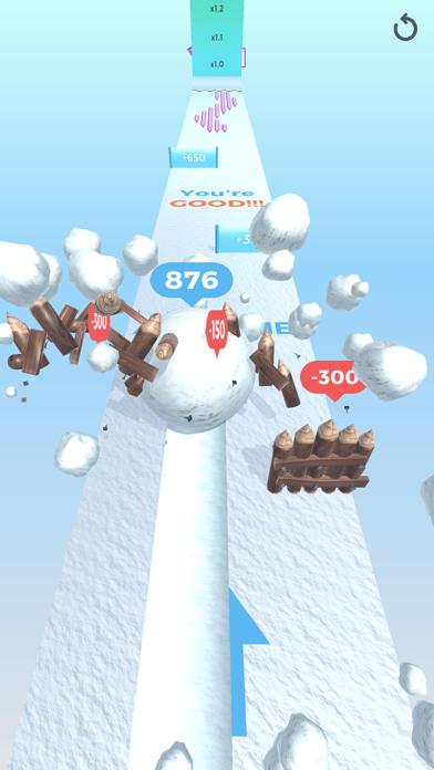 Snowball Effect 3D screenshot 4