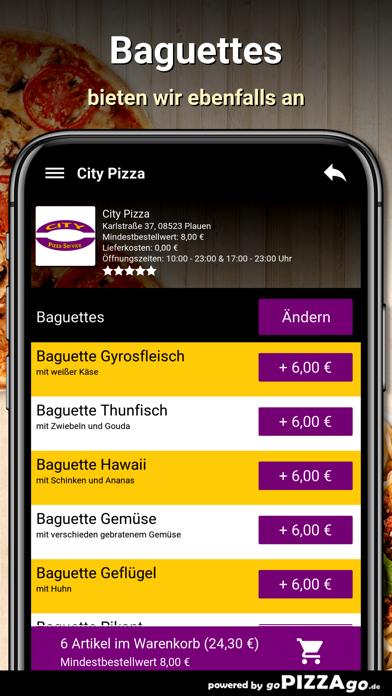 City-Pizza Plauen screenshot 6