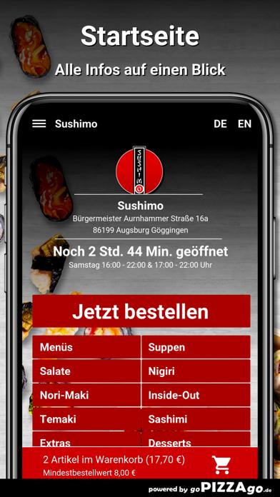 Sushimo Augsburg Göggingen screenshot 3