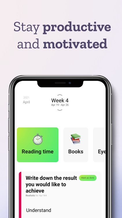 Ubjective – daily goal tracker screenshot-4