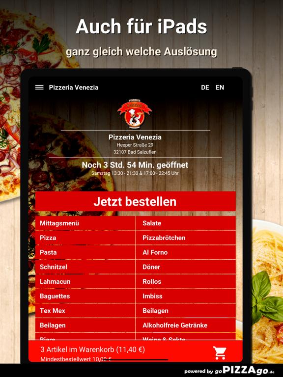 Pizzeria Venezia Bad Salzuflen screenshot 7