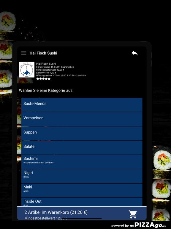Hai Fisch Sushi Saarbrücken screenshot 8