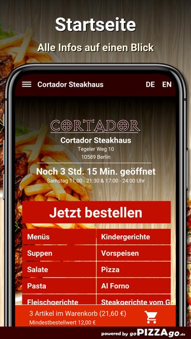 Cortador Steakhaus Berlin screenshot 2