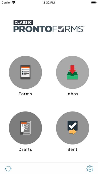 ProntoForms Classic - V1 forms屏幕截图1