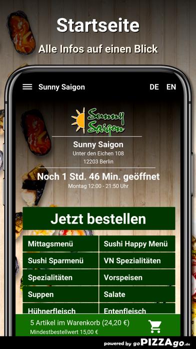 Sunny Saigon Berlin screenshot 2