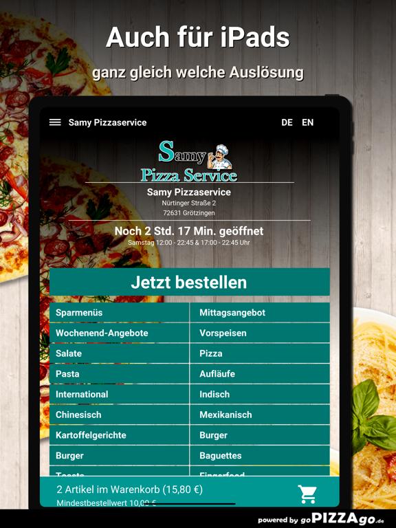 Samy Pizzaservice Grötzingen screenshot 7