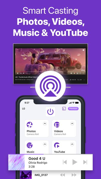 Universal Remote - TV Control iPhone app afbeelding 4