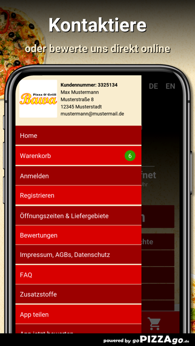 Bawa Pizza Grill Duisburg screenshot 3