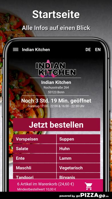 Indian Kitchen Bonn screenshot 2