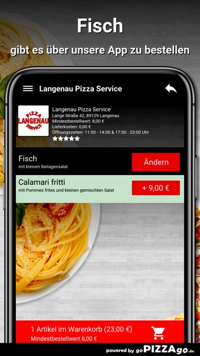 Langenau Pizza Service Langena screenshot 6