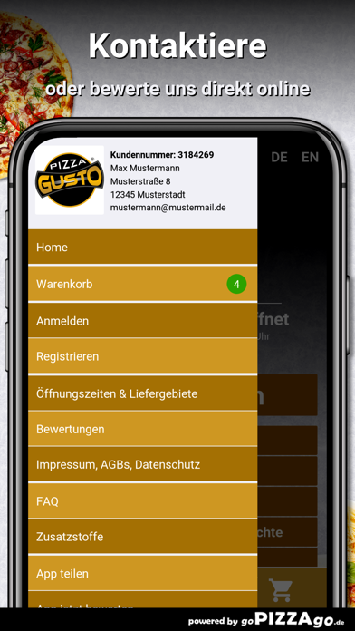 Pizza Gusto Heilbronn screenshot 3