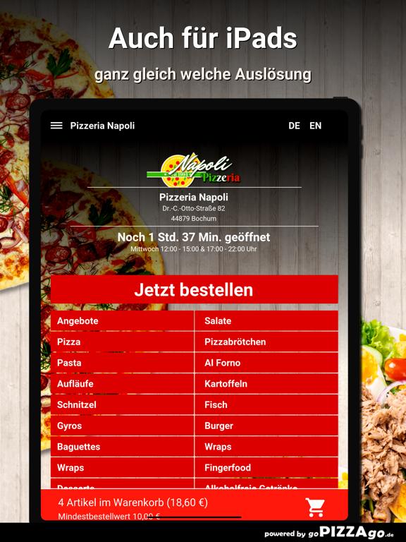 Pizzeria Napoli Bochum screenshot 7