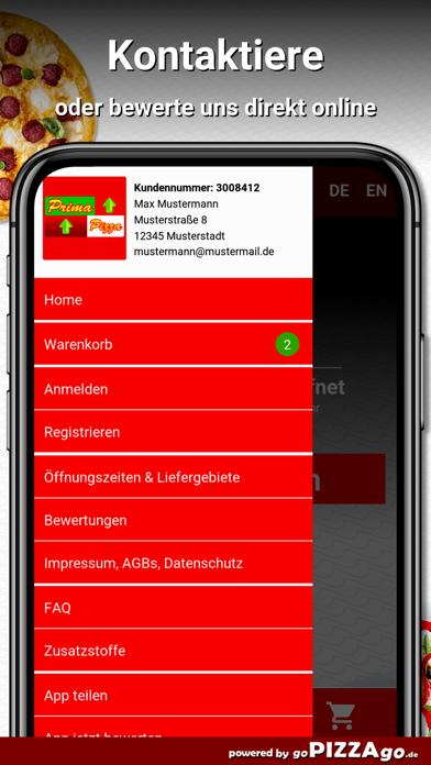 Prima Pizza München screenshot 3