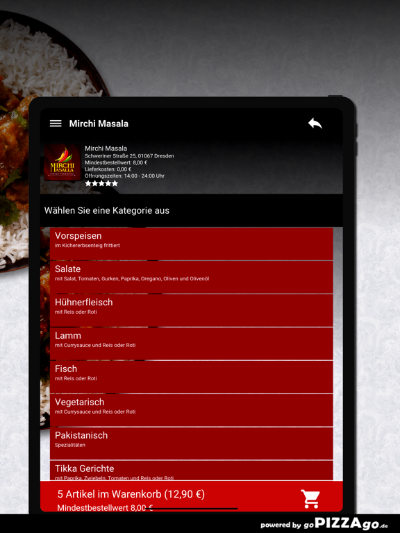 Mirchi Masala Dresden screenshot 8