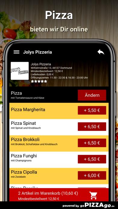 Jolys Pizzeria Dortmund screenshot 5