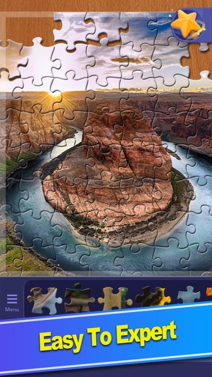 ColorPlanet® Jigsaw Puzzle HD screenshot-5