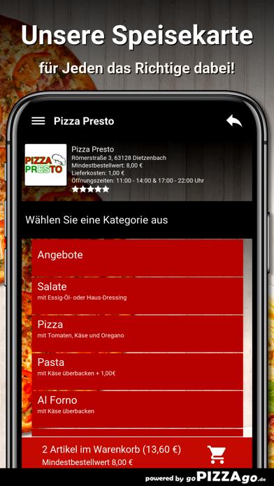 Pizza Presto Dietzenbach screenshot 4