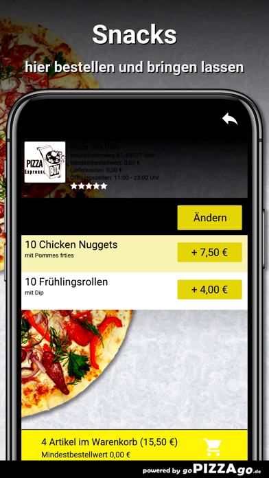 Pizza Box Ulm Ulm screenshot 6