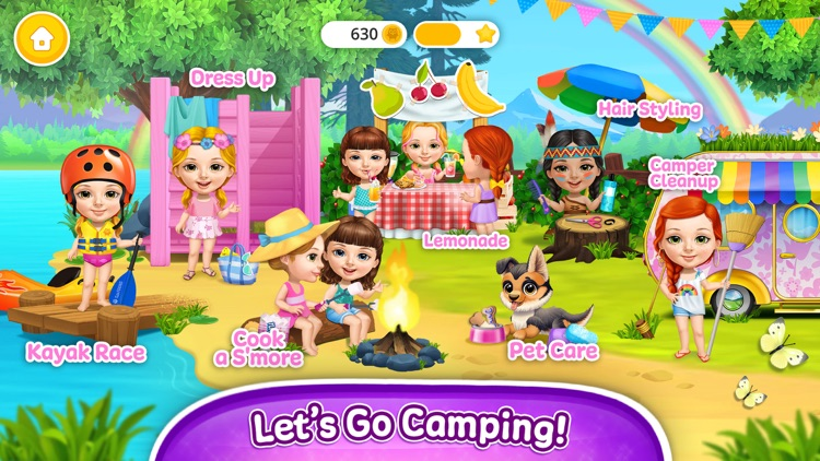Sweet Baby Girl Summer Camp screenshot-0
